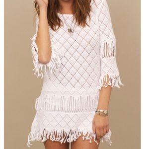 Nightcap Clothing Tribal Fringe Tunic